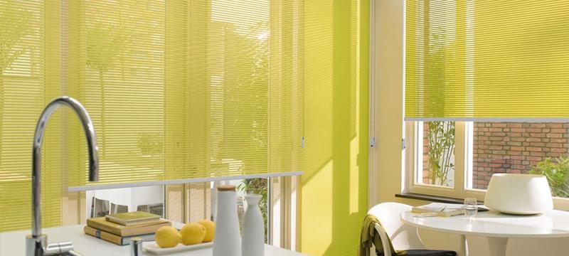 Luxaflex facette raamdecoratie